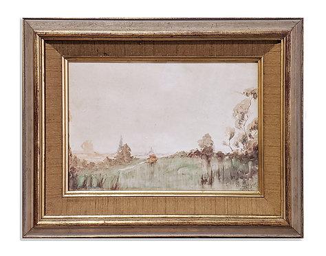 """""""Victorian Landscape"""" (c.1900)"""