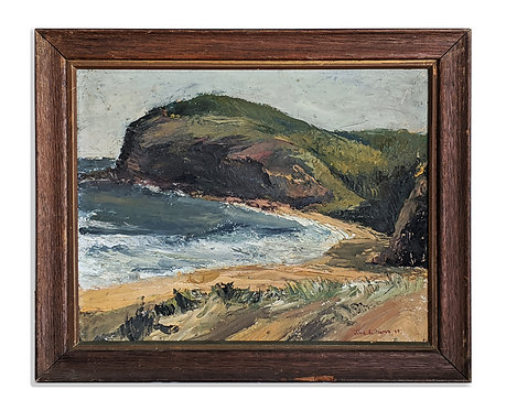 """Coastal Beach"" (1948)"