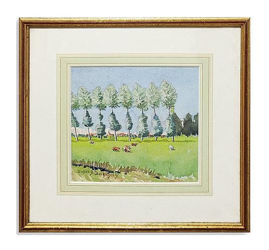 """Loire Valley Poplars"" (1955)"