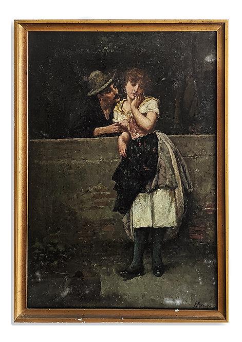 """Pretty Persuasion"" (c.1880)"