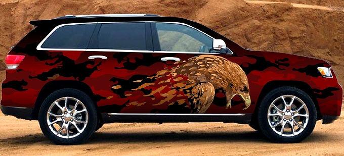 Cherokee-Jeep-Angry-Eagle-Wrap