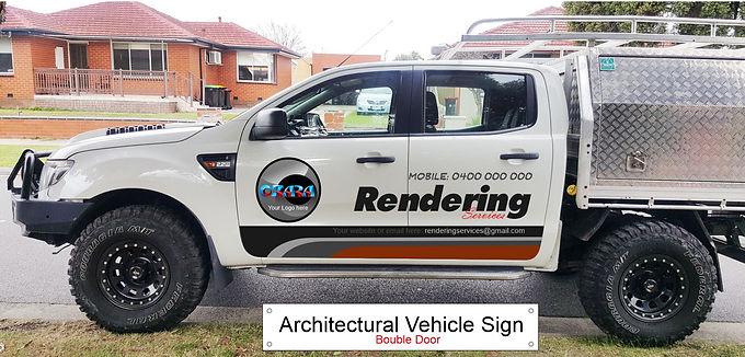 4WD-ute/Architectural-Sign-D-door