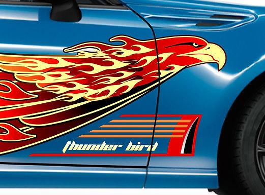 Toyota-86-Thunderbird-Sticker