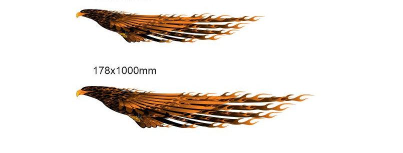 Fire-Golden-Eagle-Sticker