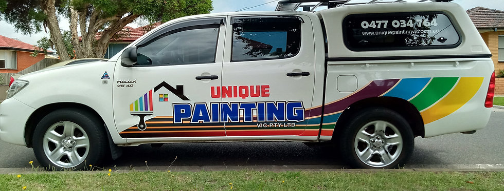 Hilux Ute Unique Painting Sign