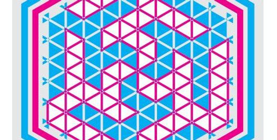 Ali-6-Hexagon-Blue