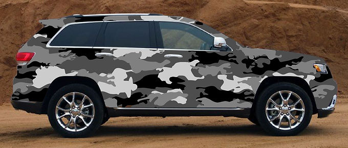 Cherokee-Jeep-Camouflage-Wrap