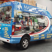Big van signage business sign