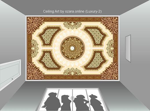 Ceiling Art & design (Luxury-2)