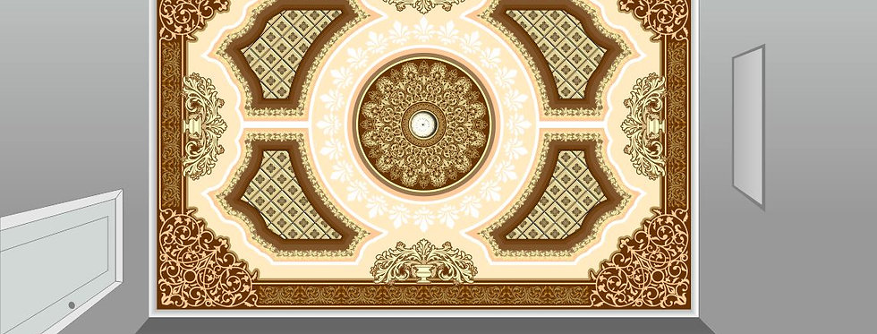 Ceiling Art & design (Luxury-2)