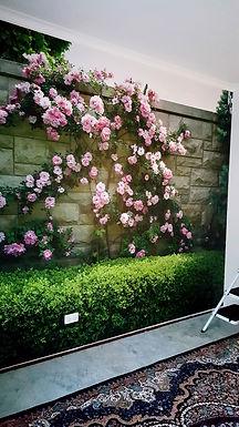 Wall-Graphics-Roses