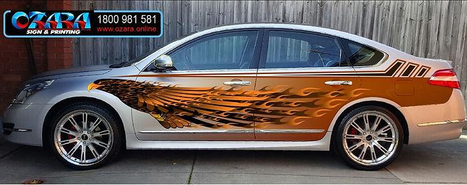 Fire-Eagle-Nissan-Maxima-Sticker