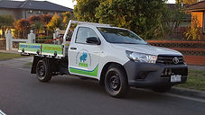 toyouta workmat ute sign