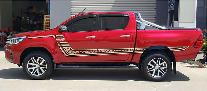 Toyota-Hilux-SR5-Z-Body-Stripe-Gold
