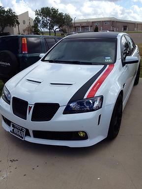 Bonnet L-D-Stripe double color