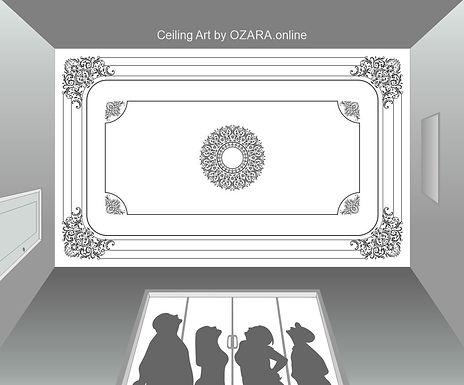 Ceiling Art & design -14
