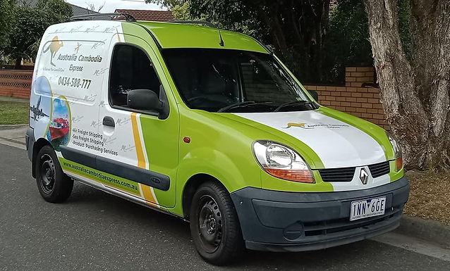 Renault-Kangoo-Van-Sign-AusComb-Express