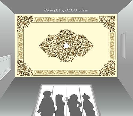 Ceiling Art & design -10