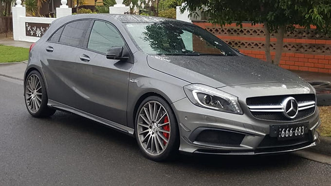 Mercedes-A45-AMG-Gray-Wrap