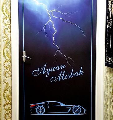 Door-Graphics-Supercar-Lightening