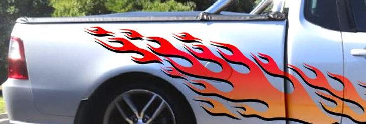 Ford-Falcon-Ute-Cab/SB-Fire-4-Sticker