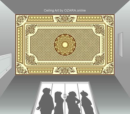 Ceiling Art & Design -3