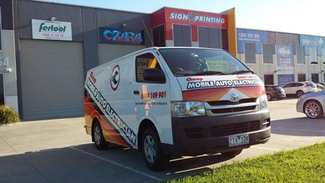Toyota-Hiace-Van-(Ceap-Auto-Electric)-sign