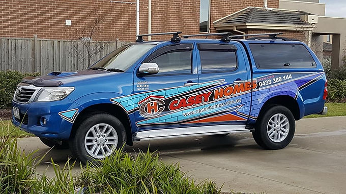 Toyota-Hilux-SR5-CaseyHomes-Sign