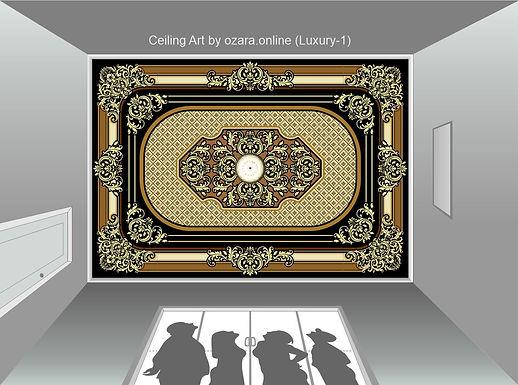 Ceiling Art & design (Luxury-1)