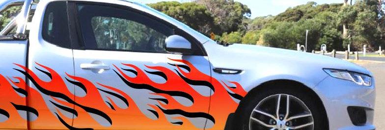 Ford-Falcon-Ute-Cab/SB-Fire-3-Sticker