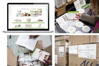 Warehousing für Retail und Webshop für Charlotte Eden