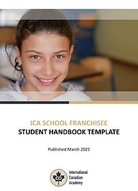 ICA School Franchisee Student Handbook T