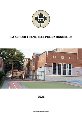 ICA Franchisee Policy Manual