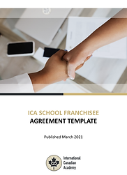 ICA School Franchisee Agreement Template