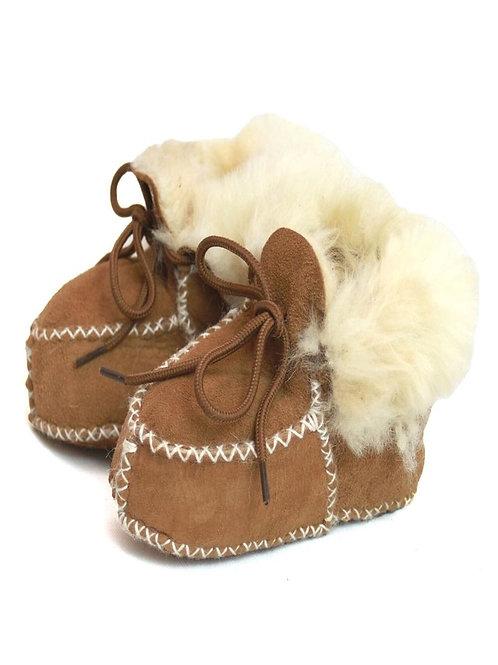 Pure Sheepskin Baby Booties