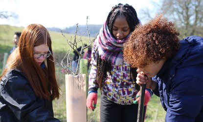 Hackathon: addressing the lack of diversity in the environment sector