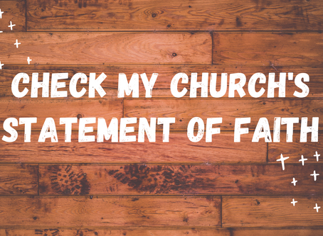 The Check My Church Statement of Faith
