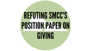 Refuting SMCC's Position Paper on Giving