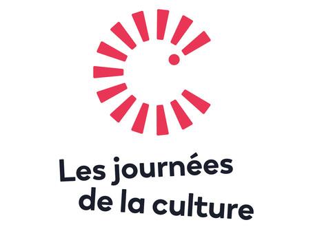 Nous participons aux Journées de la culture