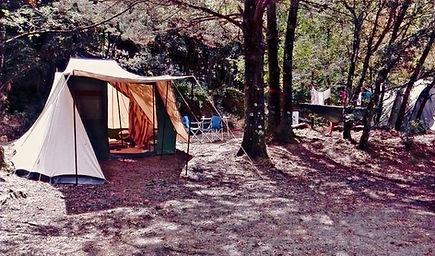 camping ombragé Gard sud de France