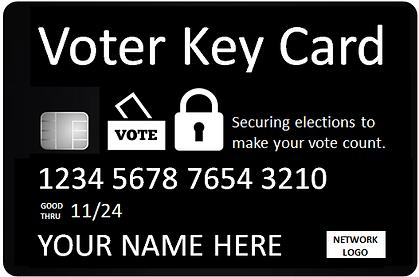voter key card - 2 icons - black - 72.pn