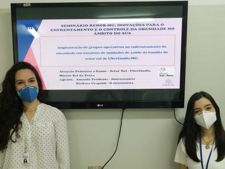 Nutricionistas da Missão Sal da Terra apresentam projeto no RENOB-MG