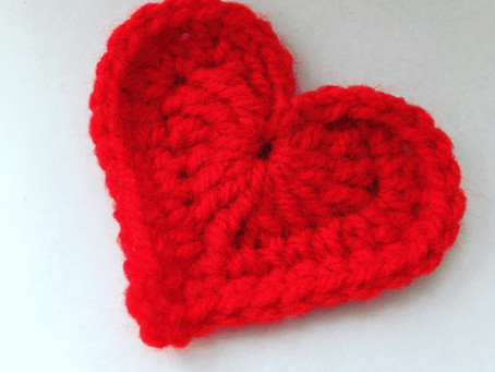 Yarn bomb project idea - fundraising for The British Heart Foundation.