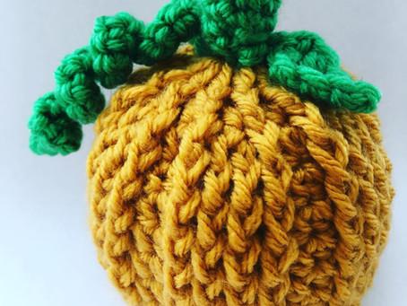 Pumpkin Chocolate Orange Crochet Cover