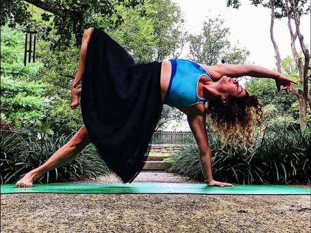 """Yoga saved me, overcoming postpartum depression and the loss of my husband"""