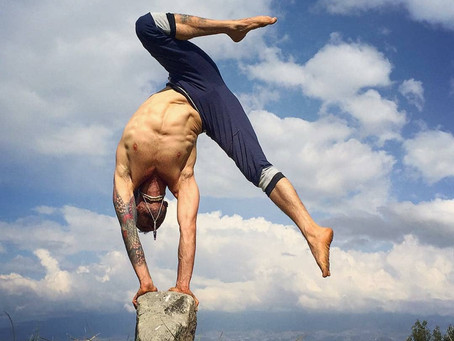 Meet @maha_yoga_flow sharing his #yogasavedmylife story with us. These are his words 💚