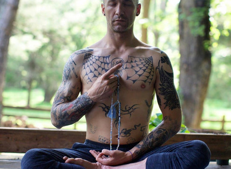 Meet @bluewolfyoga sharing his #yogasavedmylife story with us. These are his words 💚