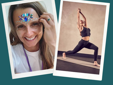 Meet Lucy @sparkyoga.london sharing her #yogasavedmylife story with us. These are her words 💚