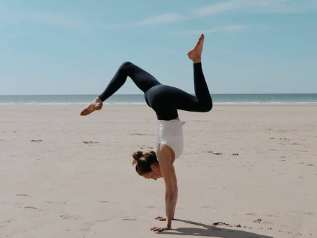 """I started yoga on the recommendation of an eating disorder counsellor back in 2014"""