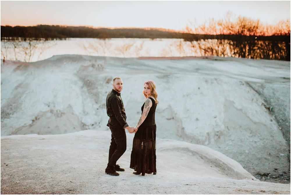 Romantic Lancaster PA Engagement Session by Karen Rainier Photography